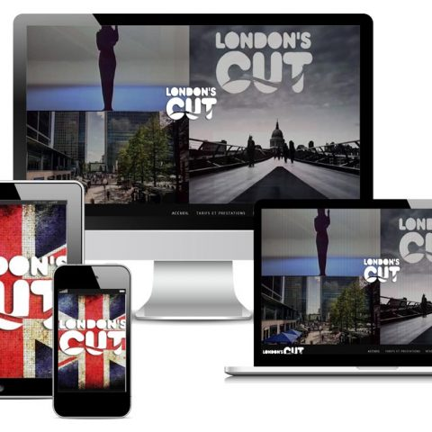 Site internet de London-Cut coiffure à Nantes (44)