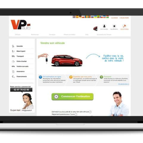 Site Internet VP Auto