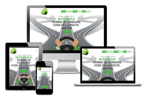 Site web Agora auto-ecole