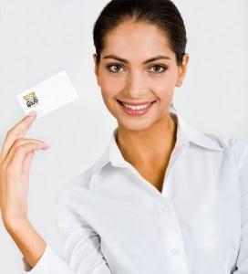 Création de cartes de visite, le QR code