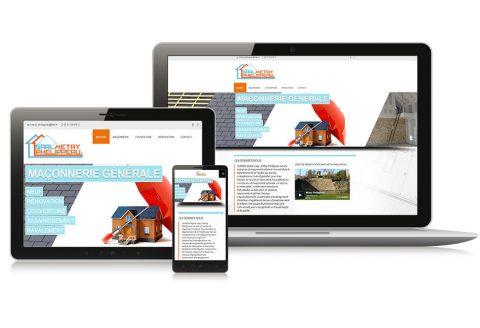"Site internet ""Sarl Methay-Phelippeau"" Vendée (85)"