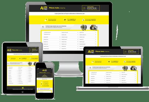 site e-commerce alpa-pro