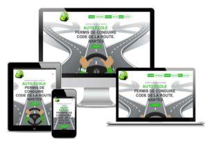 Refonte site internet AGORA Auto-Ecole