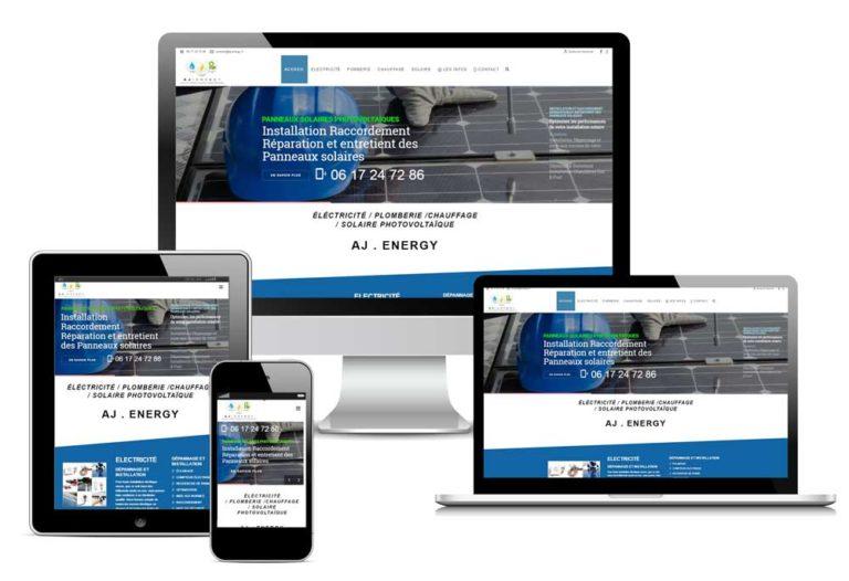 création Site web plombier électricien Nantes