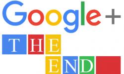Fin des comptesGoogle+ le 2avril 2019