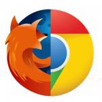 Chrome et Mozilla