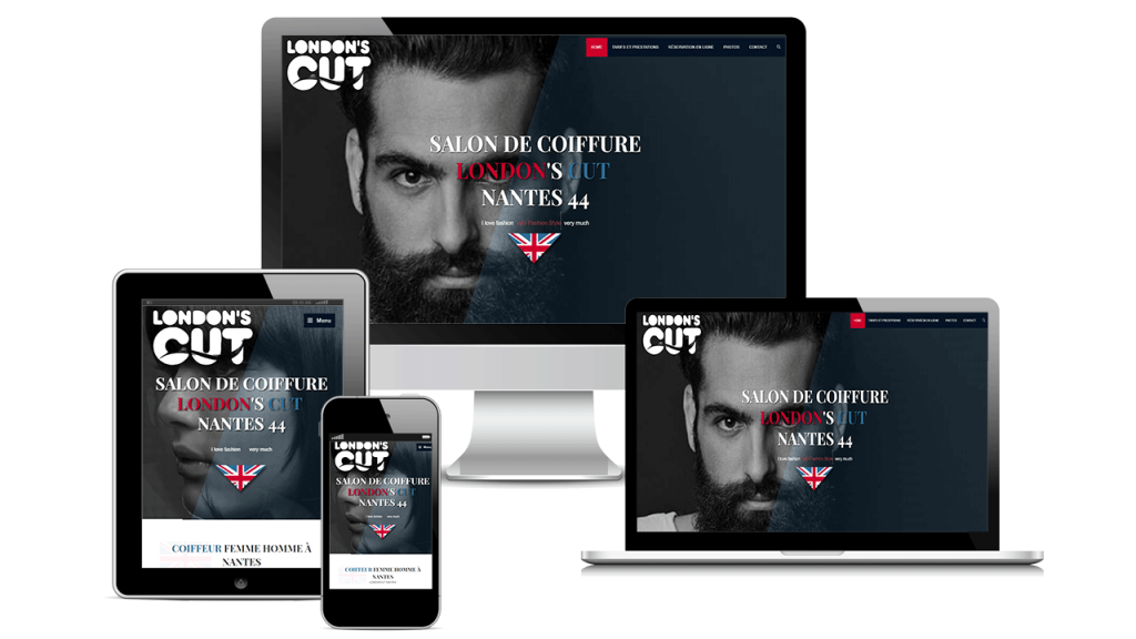 Refonte Site Web London's Cut 2019